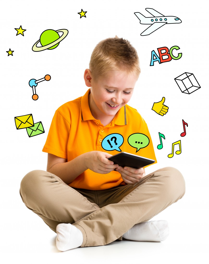 Assistive Technology: Are You Missing Something? - MFS Blog - McCaskill Family Services - Boy_learning_ipad_computer